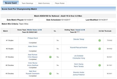 Match 3 vs Honolulu
